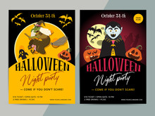 Happy Halloween Party Poster T...