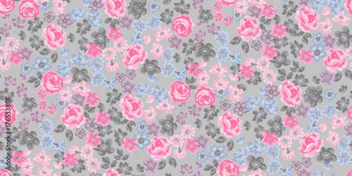 Fototapeten Künstlich floral pattern
