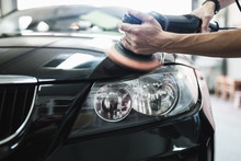 Car Detailing - Hands With Orb...