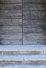 Detail Of Steps And Old Doorwa...
