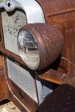 Rusty Truck Car Light