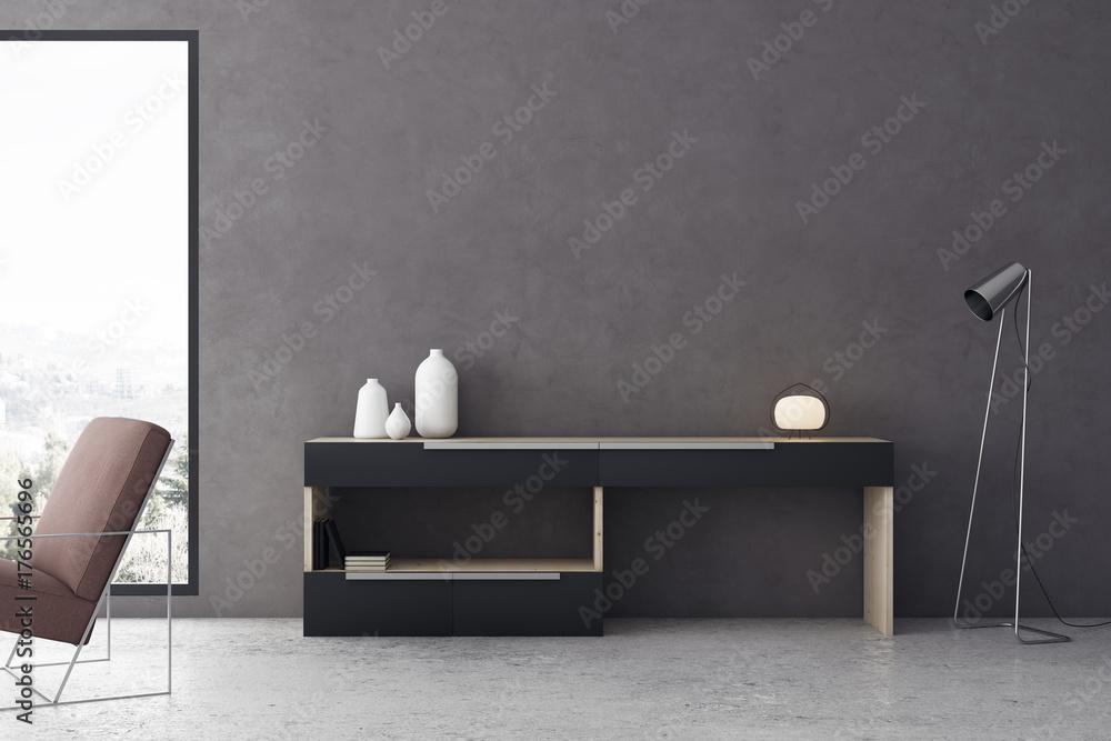 Fototapety, obrazy: Contemporary living room interior