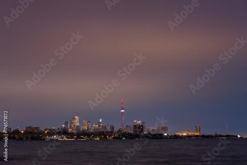 Plakat Panoramę Toronto z Humber Bay