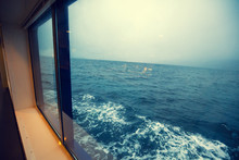 Travelling By Ship. Sea View F...