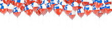 Balloons Frame With Flag Of Chile
