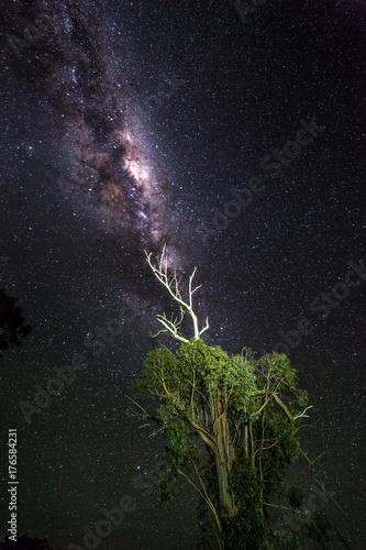 Plakat Połączenie przestrzeni kosmicznej