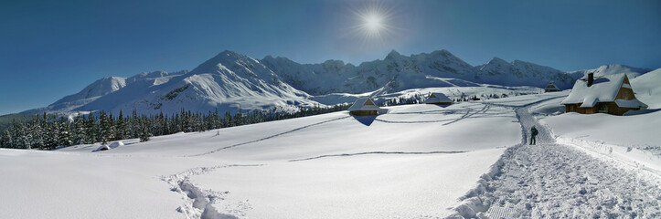 Hala Gasienicowa Panorama