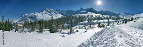 Fototapeta Hala Gasienicowa Panorama obraz