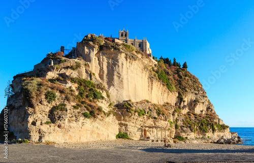 Plakat Wyspa Santa Maria - Tropea, Kalabria, Włochy