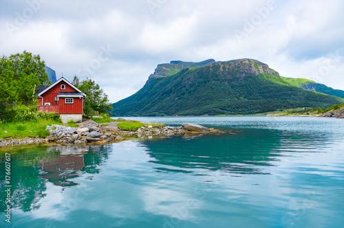 Foto auf Leinwand Skandinavien Fjord