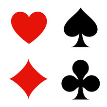 Playing Card Flat Icon For App...