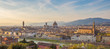 Panoramic view of Florence city skyline in Tuscany, Italy