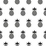 Bezszwowy wzór w ananasach - 176610456
