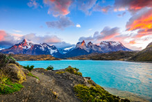 Torres Del Paine Over The Peho...