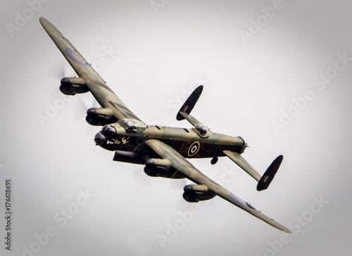 Canvas Print Avro Lancaster B1 bomber