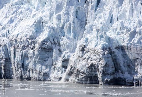 Fotobehang Gletsjers Glacier Close View