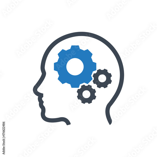 Stampa su Tela Brainstorming Icon