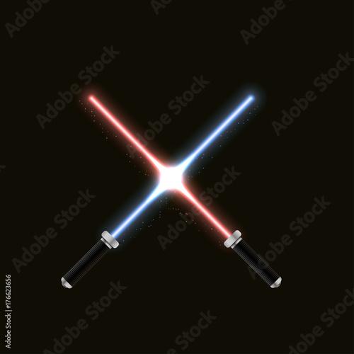 Photo  Two crossed swords