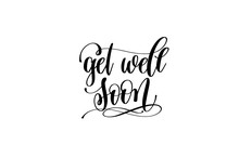 Get Well Soon Hand Lettering I...