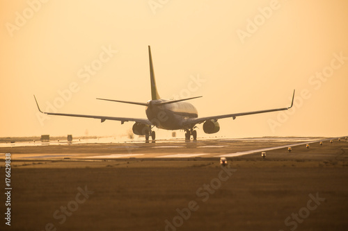 Plakat Samolot do startu