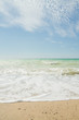 The sea shore summer Sunny day