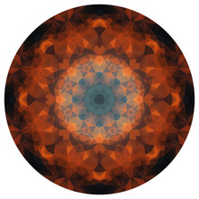 Round Polygonal Gradient Patte...