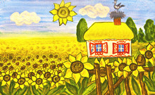 Ukrainian House (house With Su...