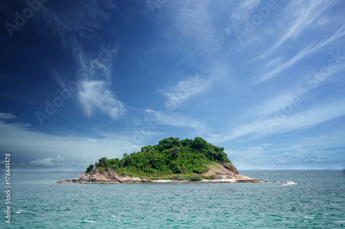 Ile Beautiful island and sky