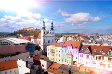 Brno Lens Flare Panorama With ...