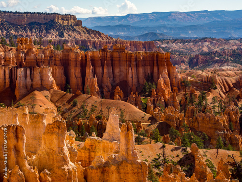 Fotografie, Obraz  Hoodoo Rocks Landscape in Bryce Canyon