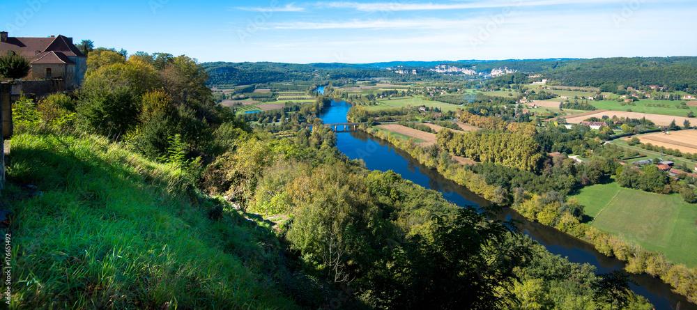 Das Dordogne Tal in Frankreich