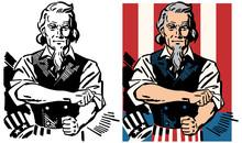 American Patriotic Icon Uncle ...