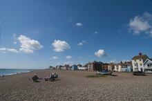 View Along The Beach At Aldebu...