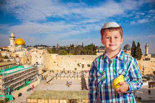Plakat Największa świątynia judaizmu