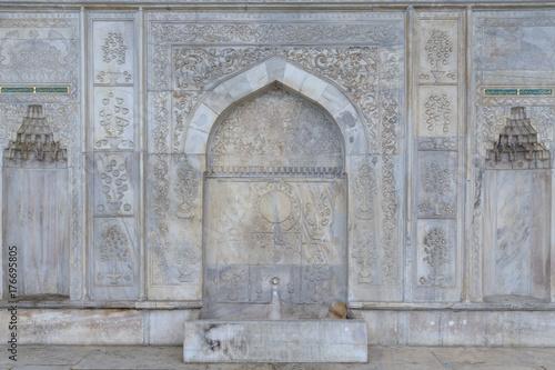 Zdjęcie XXL Szczegół Meczet Findikli w Stambule / Turcja