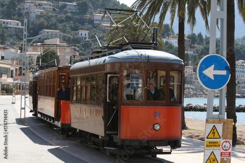 Plakat tramwaj