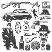 Vintage Gangster Elements Coll...