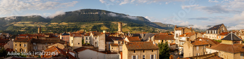 View on the city of Millau, France Wallpaper Mural