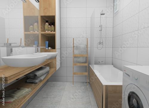 Fototapeta łazienka obraz