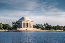 Jefferson Memorial In Evening,...