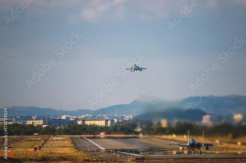 Fototapeta F15 orła samolot myśliwski do startu
