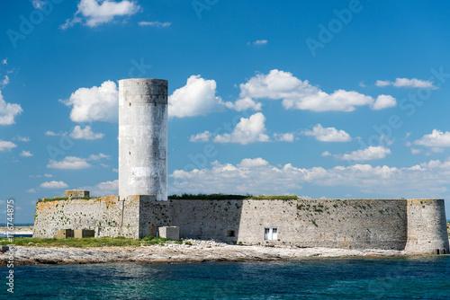 Zdjęcie XXL fort cigogne Glénans island Francja