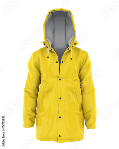 Photo Rain Coat Isolated