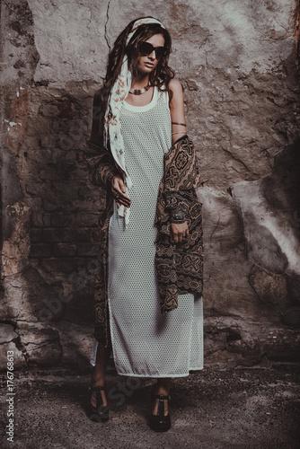 Poster Gypsy glamorous bohemian style