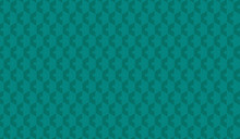Teal Hex Background Pattern