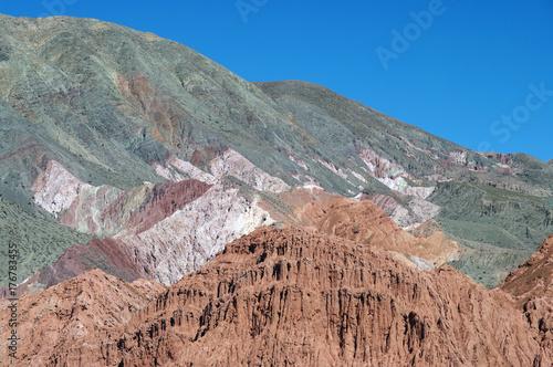 Plakat Argentyńska różnorodność skał