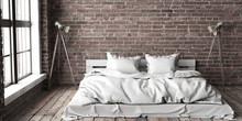 Minimalistik Bedroom Mock Up I...