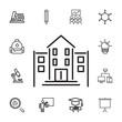 school Buildings Icon