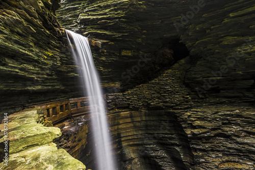 Photo Watkin glen falls