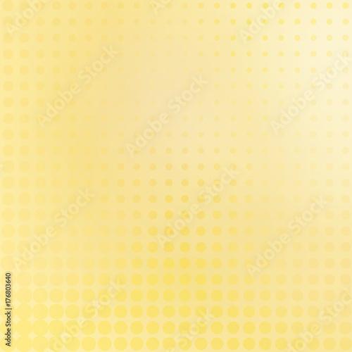 Obraz na plátne Pale yellow peach dotted background